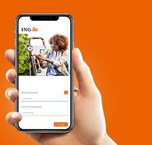 BLAUD - ing-bank-app-overzicht
